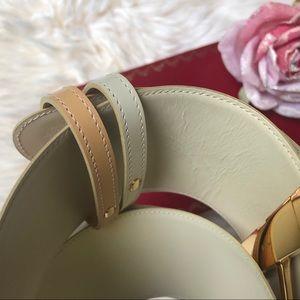 Cartier Trinity Reversible Leather Belt Women's